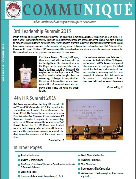 Newsletter Vol 3 Issue 5